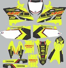 Vibrant Highlighter YAMAHA GRAPHICS  YZ 250 YZ250 2015 2016 2017
