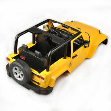 1/10 RC Hard Topless Body Shell Canopy Jeep Wrangler Rubicon For SCX10/D90 Truck