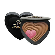 TOO FACED Soul Mates ROSS & RACHEL Blushing Bronzer Heart Duo NEW Free Shipping