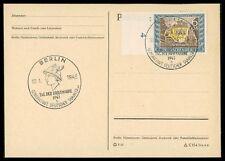 """3. REICH FDC 828 TAG DER BRIEFMARKE 1943 """"BERLIN"""" POSTKUTSCHE HERMES cm93"""