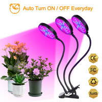 15W 30W 45W 60W LED Grow Light Growing Lamp Plants Full Spectrum Lamps with Clip