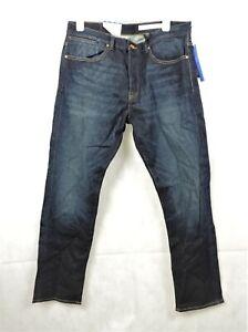 H&M 360° Tech Stretch Dark Denim Blue Jeans Size 34/32 rrp £39.99 CR003 BB 05