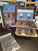 Lemax Hog Penny Pub Caddington Christmas Village Restaurant #05097 Retired RARE