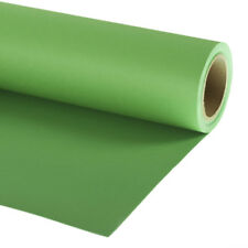 Professional Photo Background Paper Roll 2.72x11m (9ft x 35ft) Chromakey Green