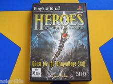 HEROES OF MIGHT AND MAGIC - PLAYSTATION 2 - PS2