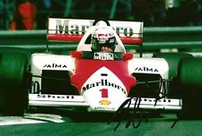 Alain Prost signed auto Racing Legend Rare LOOK!
