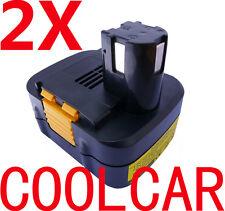 2X Battery For Panasonic 15.6V 3.0Ah Ni-MH Heavyduty EY9136 EY9137 EY9230 EY6432