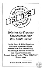 151 Tips For Realtors - By a Realtor -  Sales Booklet