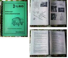 IFA l60 manuale di riparazione L 60 IFA w50 W 50 ROBUR
