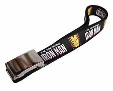 Marvel Original Buckle-Down Iron-Man Comics Heroes Adjustable Belt -NWT