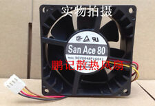 SANYO 9GV0848P1G041 DC 48V 0.27A 80*80*38mm 4pin PWM  Axial cooling fan #Mi33 QL