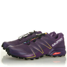 Salomon Speedcross Pro Cosmic Purple Trail Running Shoes - Womens Size 10.5 B