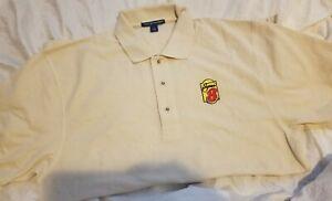 2 Super 8 Eight Motel Embroidered Golf Polo ShirtS New Adult MEDIUM UNIFORM