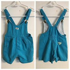 Vintage Guess Jeans USA Toddler Overalls Shorts Pants Sz 4 90's 80's Boys Girls