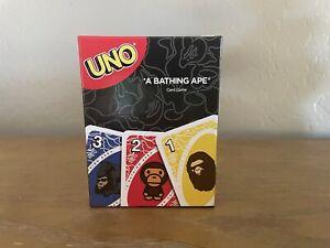 Bape x Uno Mattel Creations A Bathing Ape Card Game 50th Anniversary