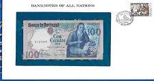 Banknotes of All Nations Portugal 100 Escudo 1980 P 178a.4 UNC Prefix FG Mestre