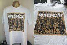 THE BLACK CROWES- BRILLIANT WARPAINT ALBUM SLEEVE ART PRINT T SHIRT-WHITE- LARGE
