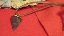 ARROWHEAD NECKLACE :  Real Stone, Hand Crafted  (P)