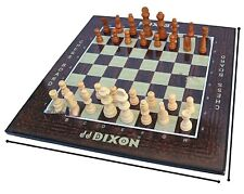 Indian Handcrafted Big Size 21x21 MDF Flat Laminated Board with Rosewood chess