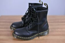 New Dr. Martens 1460 Smooth Leather Boots Black Women's 7