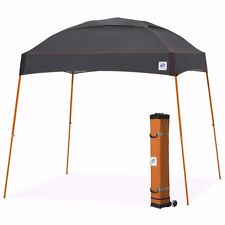 E-Z UP Dome Instant Shelter 10'x10' Canopy Pop Up Tent Vented - Steel Orange