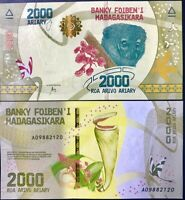 Madagascar 2000 Ariary ND 2017 P 101 UNC