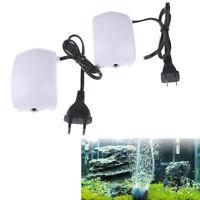 Ultra Low Noise Aquarium Air Pump Fish Tank Mini Air Compressor Oxygen Pump CRIT