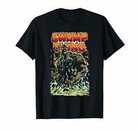 Black Justice League Swamp Thing T Shirt Men's S-6XL  US 100% Cotton