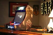 "DIY Kit -Bartop-Arcade-Cabinet with-T-Molding Cuts- 3/4"" mdf"