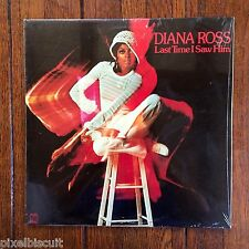 "DIANA ROSS ""LAST TIME I SAW HIM"" MOTOWN M812V1 (1973) 12"" LP NEW/SEALED"