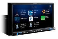 "ALPINE iLX-207 7"" In-Dash Car Digital Media Receiver w/ Apple CarPlay/XM Ready"