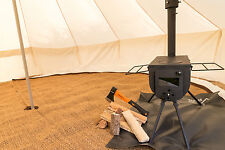 Bushcraft  Woodsman Stove Bell Tent Woodburner Camping Glamping Outdoor Cooking