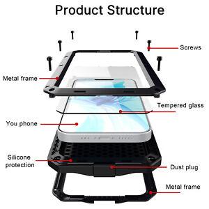 Heavy Duty Gorilla Metal Case Shockproof  iPhone 11 12 Pro Max 6 7 8 XR  PLUS