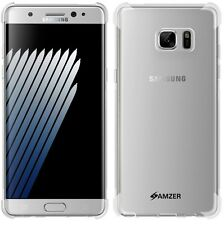 Amzer Clear Pudding TPU X Protection Case Cover For GALAXY Note 7 Fan Edition FE
