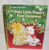 A Little Golden Book The Poky Little Puppy's First Christmas 2002