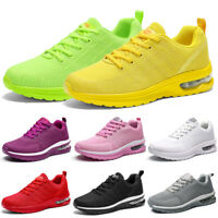 Women's Air Cushion Sneakers Casual Breathable Walking Running Shoes Sport  Gym