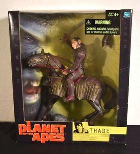 Planet of the Apes - General Thade with Battle Steed Figure - Hasbro - Unopened