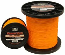 Momoi Diamond Braid Generation III Hollow Core Line - Orange - 60lb - 600 yards