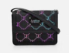 NWT Justice Girls Signature Black Crossbody / Purse!  Cute!! 💕💕💕