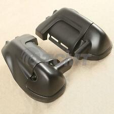 Matte Black Lower Vented Leg Fairings Glove Box For Harley Touring Models 83-13