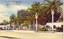 Palm Plaza Motel, Winter Park, Fl Mr & Mrs C R Hurley, Associate Owners