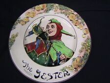 """Royal Doulton """"The Jester"""" 10 1 /2"""" Collector Plate England D6277 Vgc"""