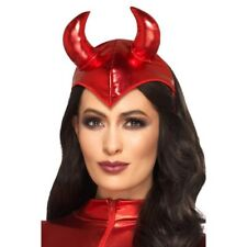 Fever Devil Headband Ladies Fancy Dress Halloween Womens Costume Accessory