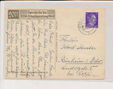 LM08304 Germany 1942 Reich portrait fine postcard used