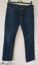 Levis 511 Jeans W34 L30 Blue straight designer trousers