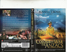 Colour of War The Anzacs-2004-Narrated By Russell Crowe-War Anzacs-DVD