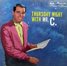 PERRY COMO Thursday Night With Mr. C. LP