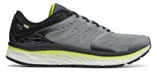 New Balance Men's Fresh Foam 1080V8 Shoes Grey With Black & Yellow