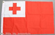 Kingdom of Tonga Flag New Polyester Puleʻanga Fakatuʻi ʻo Tonga
