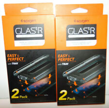 iPhone X XS Max-Spigen GlasTR EZ Fit Slim TEMPERED GLASS Screen Protector 4 Pack